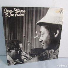 Discos de vinilo: OSCAR PETERSON AND JON FADDIS. LP VINILO. DISCOS COLUMBIA 1975. VER FOTOGRAFIAS ADJUNTAS. Lote 106701963