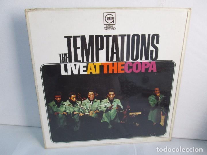 THE TEMPTATIONS LIVE AT THE COPA. LP VINILO. GORDY MOTOWN RECORDS 1968. VER FOTOGRAFIAS (Música - Discos - Singles Vinilo - Jazz, Jazz-Rock, Blues y R&B)