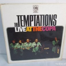 Discos de vinilo: THE TEMPTATIONS LIVE AT THE COPA. LP VINILO. GORDY MOTOWN RECORDS 1968. VER FOTOGRAFIAS. Lote 106706099