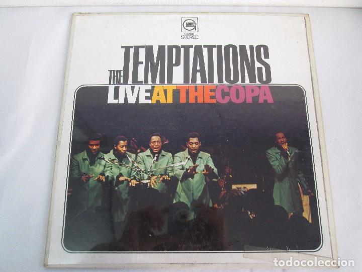 Discos de vinilo: THE TEMPTATIONS LIVE AT THE COPA. LP VINILO. GORDY MOTOWN RECORDS 1968. VER FOTOGRAFIAS - Foto 2 - 106706099