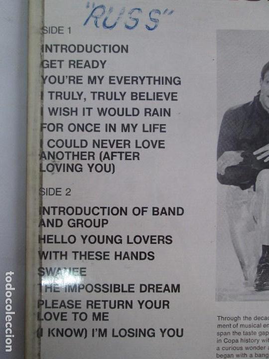 Discos de vinilo: THE TEMPTATIONS LIVE AT THE COPA. LP VINILO. GORDY MOTOWN RECORDS 1968. VER FOTOGRAFIAS - Foto 7 - 106706099