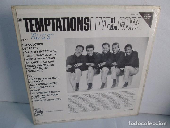Discos de vinilo: THE TEMPTATIONS LIVE AT THE COPA. LP VINILO. GORDY MOTOWN RECORDS 1968. VER FOTOGRAFIAS - Foto 9 - 106706099