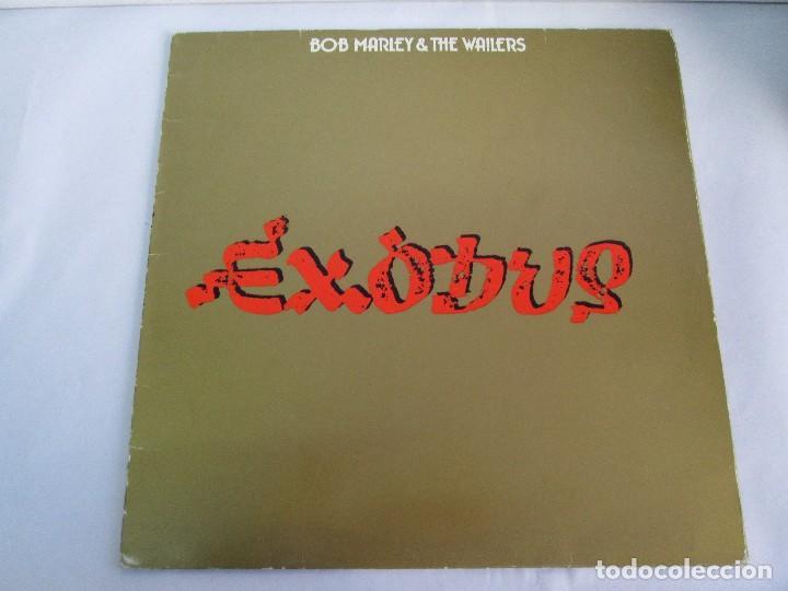 Discos de vinilo: BOB MARLEY & THE WAILERS. EXODUS. LP VINILO ARIOLA EURODISC 1977. VER FOTOGRAFIAS ADJUNTAS - Foto 2 - 106707559