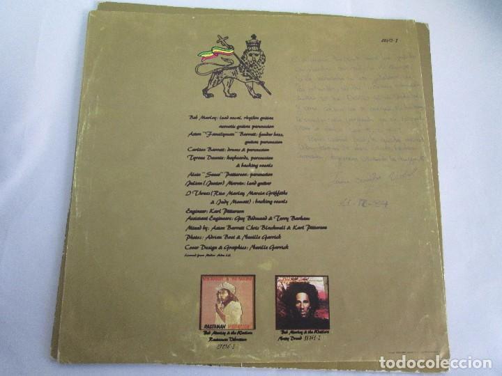 Discos de vinilo: BOB MARLEY & THE WAILERS. EXODUS. LP VINILO ARIOLA EURODISC 1977. VER FOTOGRAFIAS ADJUNTAS - Foto 3 - 106707559