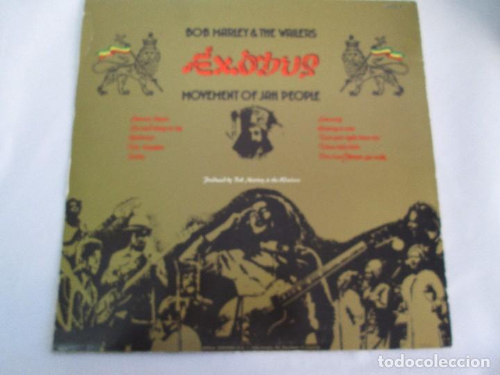 Discos de vinilo: BOB MARLEY & THE WAILERS. EXODUS. LP VINILO ARIOLA EURODISC 1977. VER FOTOGRAFIAS ADJUNTAS - Foto 9 - 106707559