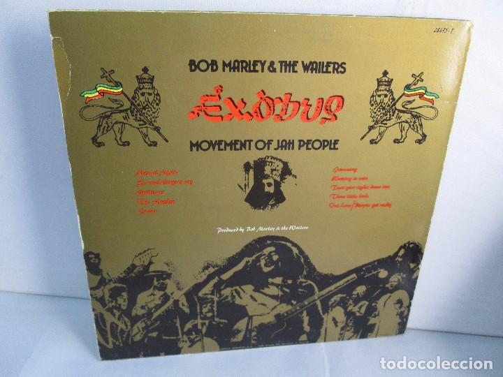 Discos de vinilo: BOB MARLEY & THE WAILERS. EXODUS. LP VINILO ARIOLA EURODISC 1977. VER FOTOGRAFIAS ADJUNTAS - Foto 10 - 106707559