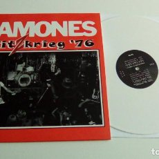 Discos de vinilo: RAMONES - BLITZKRIEG '76 (LP VINILO BLANCO) NUEVO. Lote 106712667