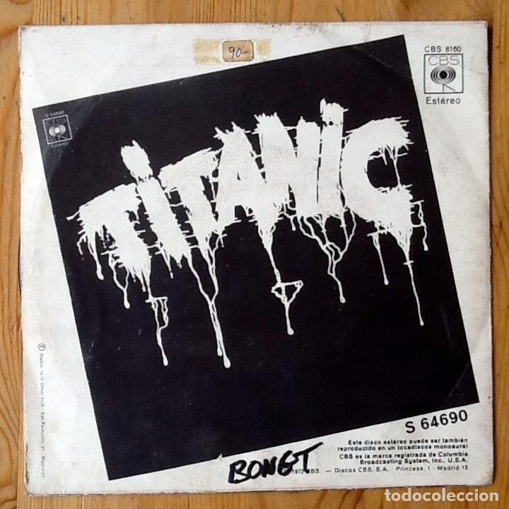 Discos de vinilo: TITANIC : SEARCHIN! [ESP 1972] 7 - Foto 2 - 106722323
