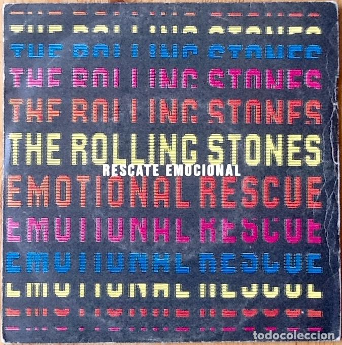 THE ROLLING STONES : EMOTIONAL RESCUE [ESP 1980] 7' (Música - Discos - Singles Vinilo - Pop - Rock - Extranjero de los 70)