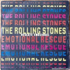 Discos de vinilo: THE ROLLING STONES : EMOTIONAL RESCUE [ESP 1980] 7'. Lote 106732347