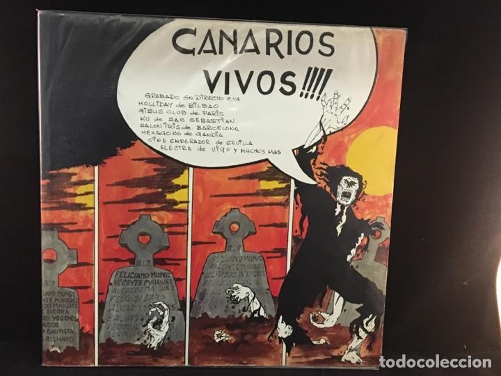 CANARIOS - VIVOS - LP (Música - Discos - LP Vinilo - Grupos Españoles de los 70 y 80)