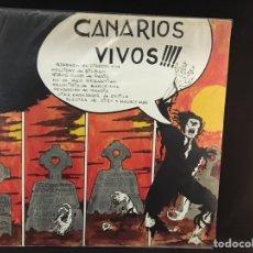 Discos de vinilo: CANARIOS - VIVOS - LP. Lote 106763371