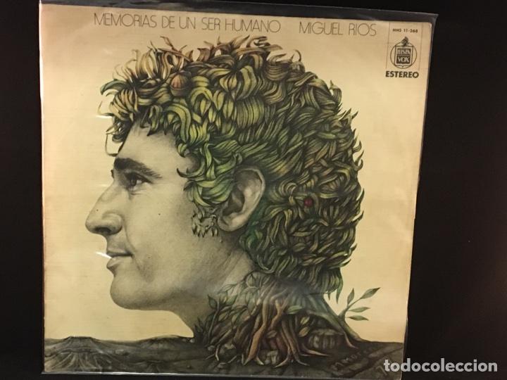 MIGUEL RÍOS - MEMORIAS DE UN SER HUMANO - LP (Música - Discos - LP Vinilo - Solistas Españoles de los 70 a la actualidad)