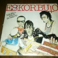 Discos de vinilo: ESKORBUTO - IMPUESTO REVOLUCIONARIO (2XLP) DRO, 1986. Lote 106767011