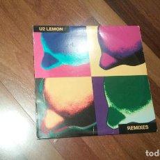 Discos de vinilo: U2-LEMON.REMIXES.MAXI. Lote 106768375