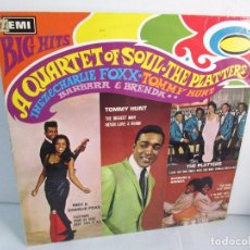 Discos de vinilo: BIG HITS. A QUARTET OF SOUL. THE PLATTERS. LP VINILO EMI RECORDS 1967. VER FOTOGRAFIAS ADJUNTAS. Lote 106779407