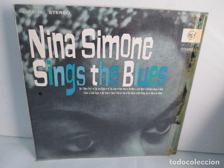 NINA SIMONE. SINGS THE BLUES. LP VINILO. RCA VICTOR 1967. VER FOTOGRAFIAS ADJUNTAS (Música - Discos - Singles Vinilo - Jazz, Jazz-Rock, Blues y R&B)