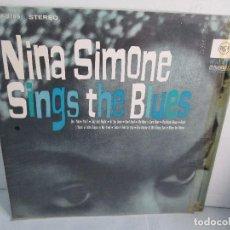 Discos de vinilo: NINA SIMONE. SINGS THE BLUES. LP VINILO. RCA VICTOR 1967. VER FOTOGRAFIAS ADJUNTAS. Lote 106780007