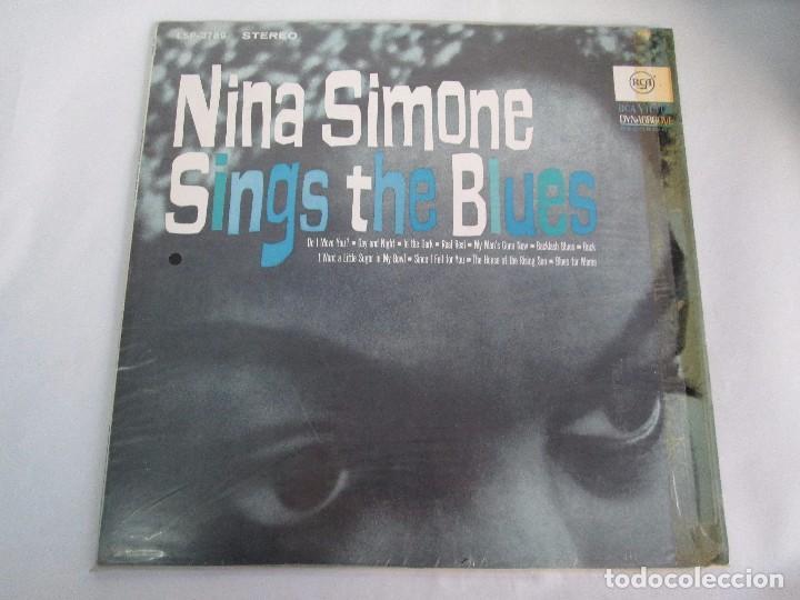 Discos de vinilo: NINA SIMONE. SINGS THE BLUES. LP VINILO. RCA VICTOR 1967. VER FOTOGRAFIAS ADJUNTAS - Foto 2 - 106780007