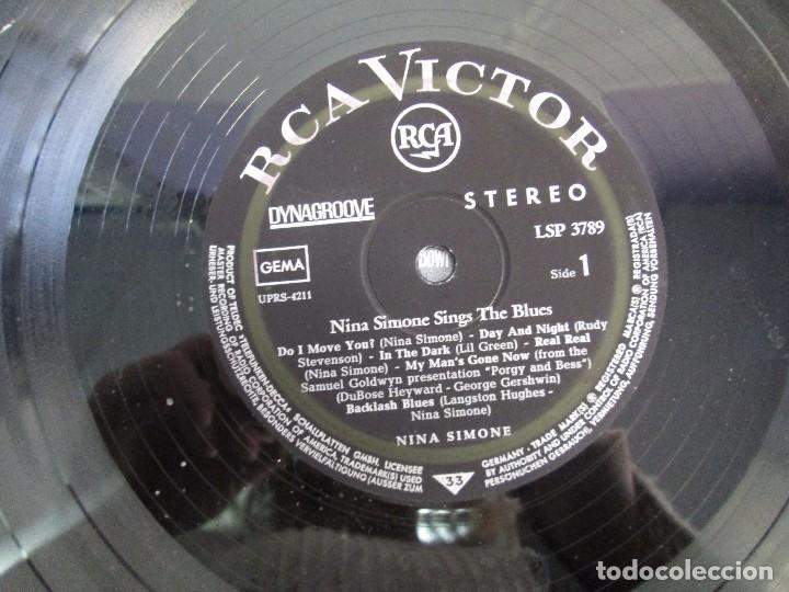 Discos de vinilo: NINA SIMONE. SINGS THE BLUES. LP VINILO. RCA VICTOR 1967. VER FOTOGRAFIAS ADJUNTAS - Foto 4 - 106780007