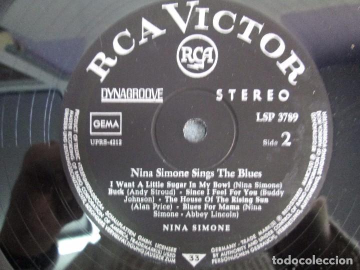 Discos de vinilo: NINA SIMONE. SINGS THE BLUES. LP VINILO. RCA VICTOR 1967. VER FOTOGRAFIAS ADJUNTAS - Foto 6 - 106780007