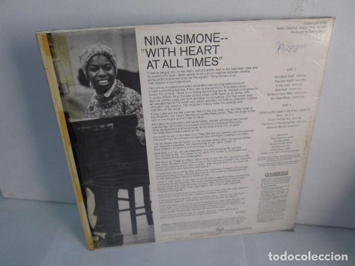 Discos de vinilo: NINA SIMONE. SINGS THE BLUES. LP VINILO. RCA VICTOR 1967. VER FOTOGRAFIAS ADJUNTAS - Foto 9 - 106780007
