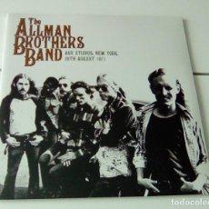 Discos de vinilo: THE ALLMAN BROTHERS BAND - A&R STUDIOS: NEW YORK, 26TH AUGUST 1971 (2LP 2012, LETV058LP) PRECINTADO. Lote 124151446