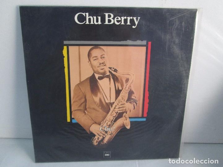CHU BERRY. MAESTROS DEL JAZZ. LP VINILO. DISCOS CBS 1989. VER FOTOGRAFIAS ADJUNTAS (Música - Discos - Singles Vinilo - Jazz, Jazz-Rock, Blues y R&B)
