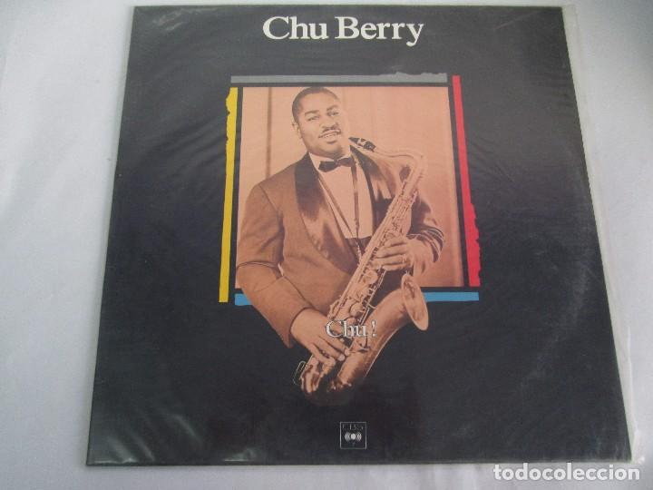 Discos de vinilo: CHU BERRY. MAESTROS DEL JAZZ. LP VINILO. DISCOS CBS 1989. VER FOTOGRAFIAS ADJUNTAS - Foto 2 - 106782295