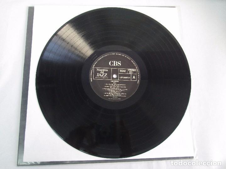 Discos de vinilo: CHU BERRY. MAESTROS DEL JAZZ. LP VINILO. DISCOS CBS 1989. VER FOTOGRAFIAS ADJUNTAS - Foto 3 - 106782295