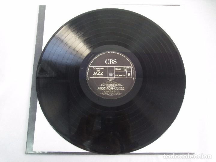 Discos de vinilo: CHU BERRY. MAESTROS DEL JAZZ. LP VINILO. DISCOS CBS 1989. VER FOTOGRAFIAS ADJUNTAS - Foto 5 - 106782295