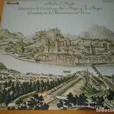 Disques de vinyle: LP -MICHAEL HAYDN -QUINTETOS DE CUERDA EN SOL MAYOR Y FA MAYOR - ARMONICA DE VIENA . Lote 106790679