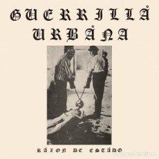 Discos de vinilo: GUERRILLA URBANA – RAZÓN DE ESTADO LP. Lote 127886076