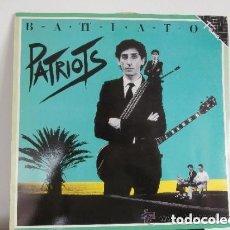 Discos de vinilo: FRANCO BATTIATO - PATRIOTS (LP) 1986. Lote 106891855