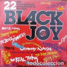 Discos de vinilo: VARIOUS - BLACK JOY: 22 HITS FROM ORIGINAL SOUNDTRACK OF THE FILM (LP, COMP) LABEL:RONCO CAT#: RTL . Lote 106898955