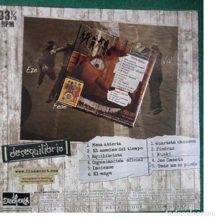 Discos de vinilo: DINAMO - Desequilibrio L.P. (Edicion Mexico) - Foto 2 - 106914251