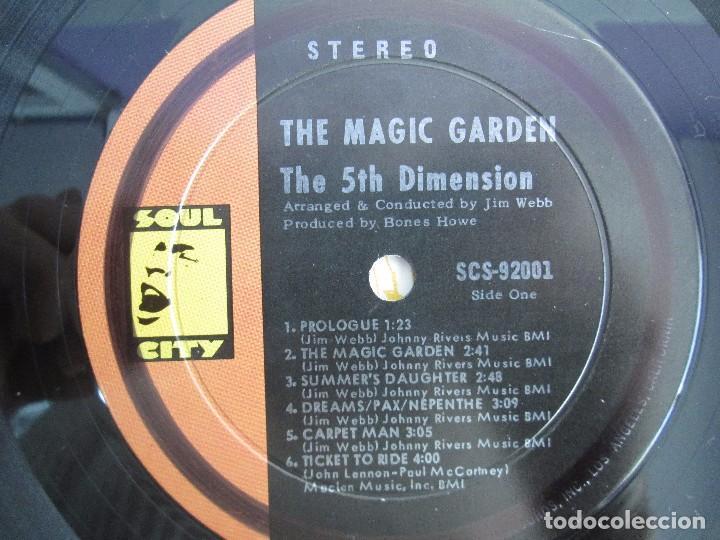 Discos de vinilo: THE 5TH DIMENSION. THE MAGIC GARDEN. LP VINILO. LIBERTY RECORDS. VER FOTOGRAFIAS ADJUNTAS - Foto 4 - 106917187