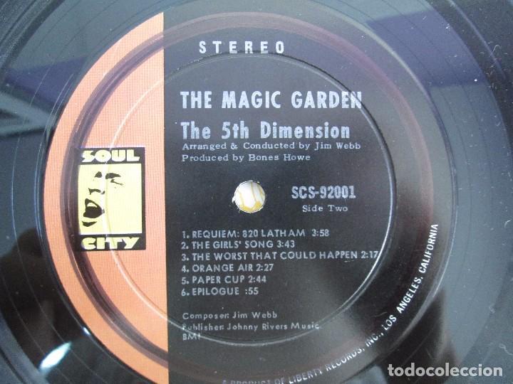 Discos de vinilo: THE 5TH DIMENSION. THE MAGIC GARDEN. LP VINILO. LIBERTY RECORDS. VER FOTOGRAFIAS ADJUNTAS - Foto 6 - 106917187