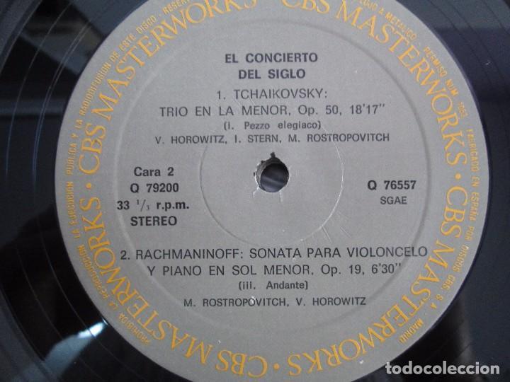 Discos de vinilo: CONCERT OF THE CENTURY. CARNEGIE HALL. 2 LP VINILO. DISCOS CBS 1977. VER FOTOGRAFIAS ADJUNTAS - Foto 9 - 106921167