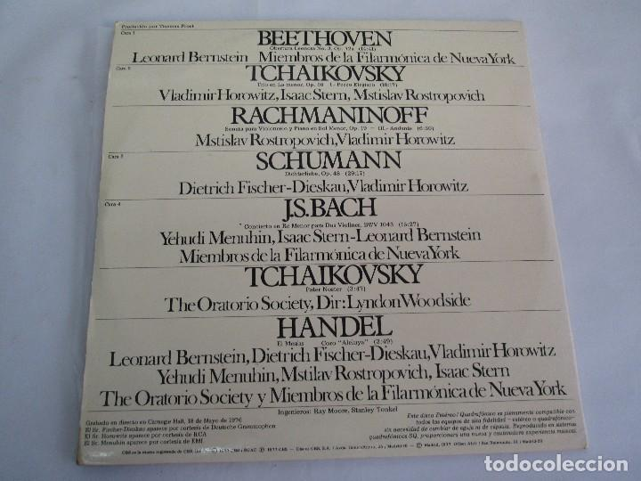 Discos de vinilo: CONCERT OF THE CENTURY. CARNEGIE HALL. 2 LP VINILO. DISCOS CBS 1977. VER FOTOGRAFIAS ADJUNTAS - Foto 14 - 106921167