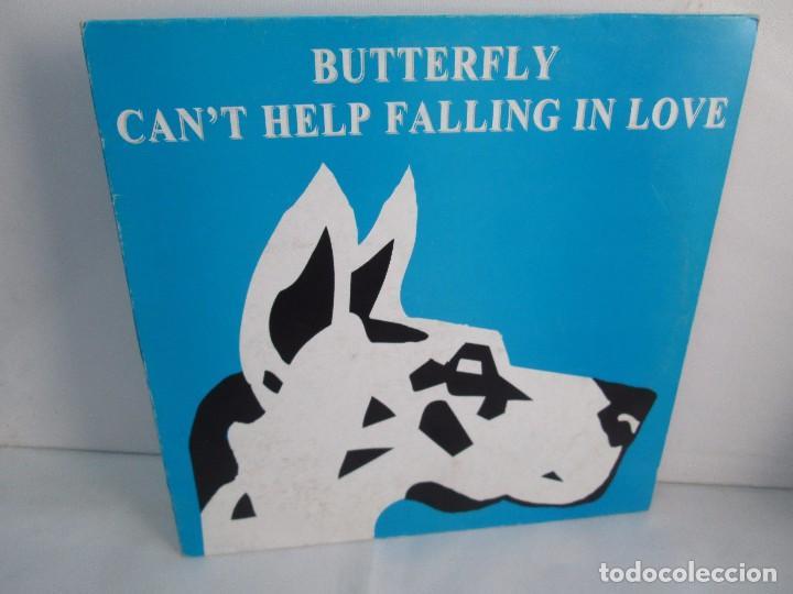 BUTTERFLY. CAN´T HELP FALLING IN LOVE. EP VINILO BLANCO Y NEGRO 1995. VER FOTOGRAFIAS ADJUNTAS (Música - Discos de Vinilo - Maxi Singles - Disco y Dance)