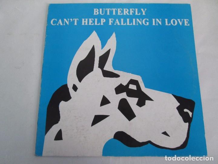 Discos de vinilo: BUTTERFLY. CAN´T HELP FALLING IN LOVE. EP VINILO BLANCO Y NEGRO 1995. VER FOTOGRAFIAS ADJUNTAS - Foto 2 - 106922927