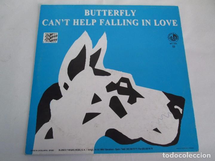 Discos de vinilo: BUTTERFLY. CAN´T HELP FALLING IN LOVE. EP VINILO BLANCO Y NEGRO 1995. VER FOTOGRAFIAS ADJUNTAS - Foto 7 - 106922927