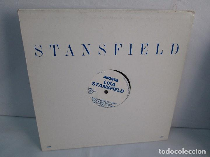 LISA STANSFIELD. TIME TO MAKE YOU MINE. EP VINILO. ARISTA. VER FOTOGRAFIAS ADJUNTAS (Música - Discos de Vinilo - Maxi Singles - Disco y Dance)