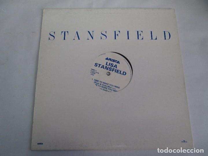 Discos de vinilo: LISA STANSFIELD. TIME TO MAKE YOU MINE. EP VINILO. ARISTA. VER FOTOGRAFIAS ADJUNTAS - Foto 2 - 106923263