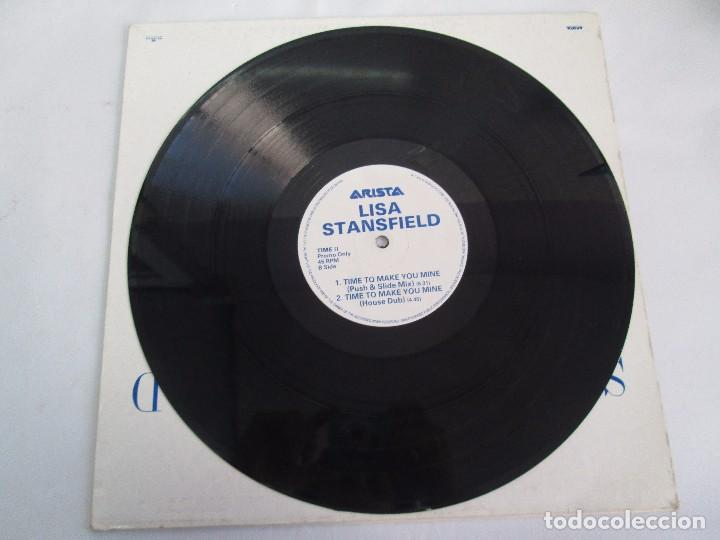 Discos de vinilo: LISA STANSFIELD. TIME TO MAKE YOU MINE. EP VINILO. ARISTA. VER FOTOGRAFIAS ADJUNTAS - Foto 3 - 106923263