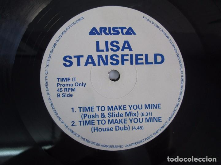 Discos de vinilo: LISA STANSFIELD. TIME TO MAKE YOU MINE. EP VINILO. ARISTA. VER FOTOGRAFIAS ADJUNTAS - Foto 4 - 106923263