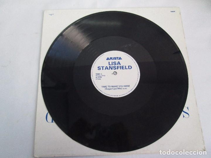 Discos de vinilo: LISA STANSFIELD. TIME TO MAKE YOU MINE. EP VINILO. ARISTA. VER FOTOGRAFIAS ADJUNTAS - Foto 5 - 106923263