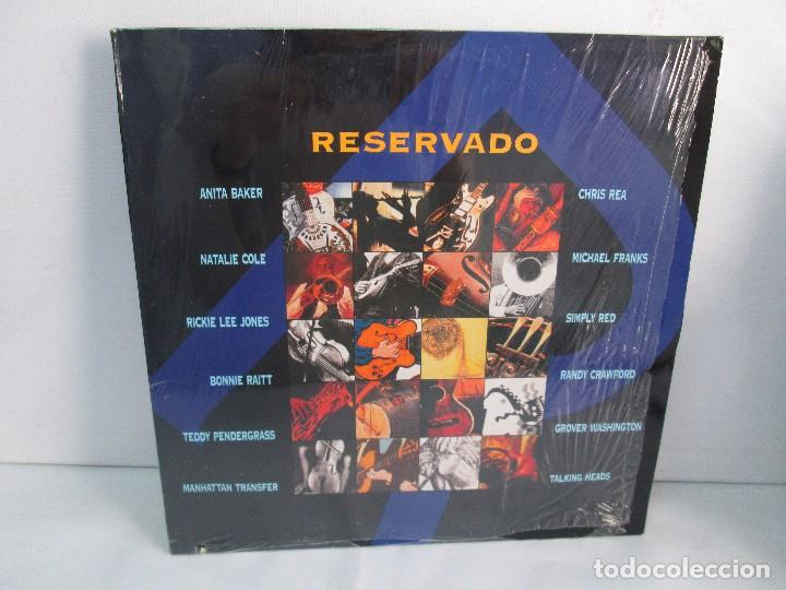 RESERVADO. ANITA BAKER. NATALIE COLE. CHRIS REA. MICHAEL FRANKS..LP VINILO GRABACIONES ACCIDENTALES (Música - Discos - Singles Vinilo - Jazz, Jazz-Rock, Blues y R&B)