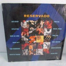 Discos de vinilo: RESERVADO. ANITA BAKER. NATALIE COLE. CHRIS REA. MICHAEL FRANKS..LP VINILO GRABACIONES ACCIDENTALES. Lote 106923739